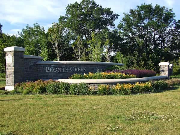 Bronte Creek entrance