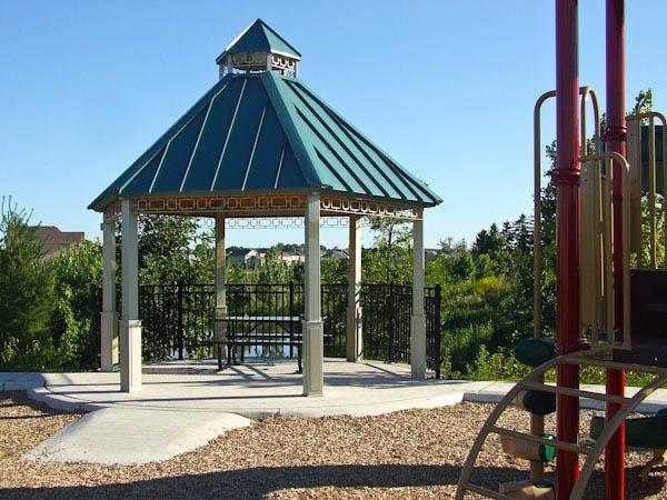 Bronte Creek playground pavilion