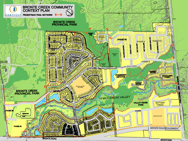 Bronte Creek Neighbourhood Parks plan