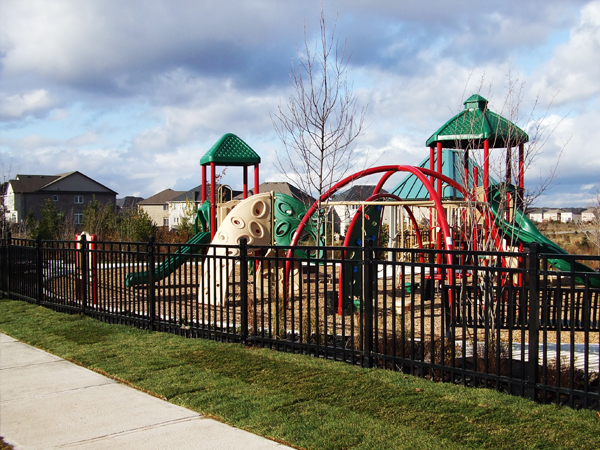 Bronte Creek Neighbourhood Park playground 1