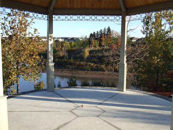 Bronte Creek Neighbourhood Parks pavilion detail