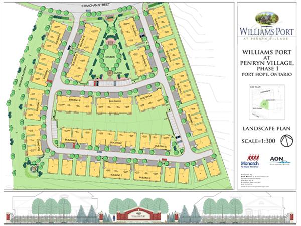 Penryn Village, Port Hope: Plan