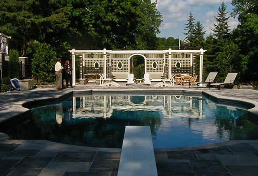 Willow Farm pool, Aurora