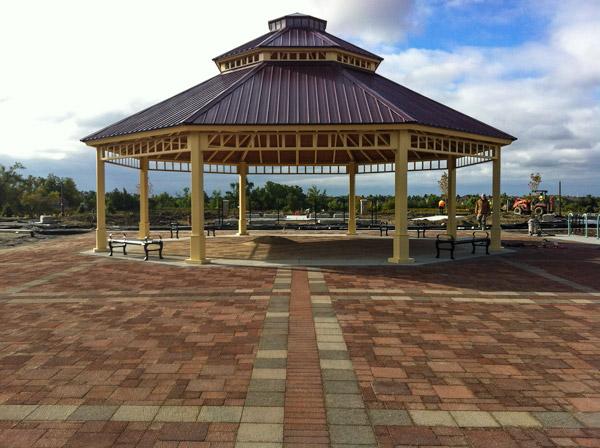 Caledon District Park pavilion