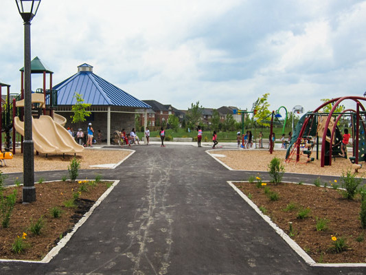 Southfields Phase 2 Community Park play area