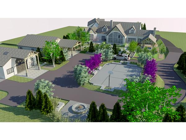 Blue Mountain Residence 3D