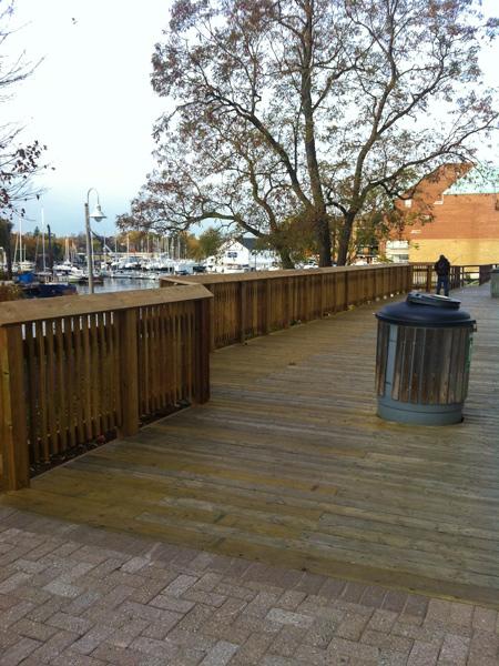 Bronte Waterfront: Fisherman's Wharf Restoration - Boardwalk