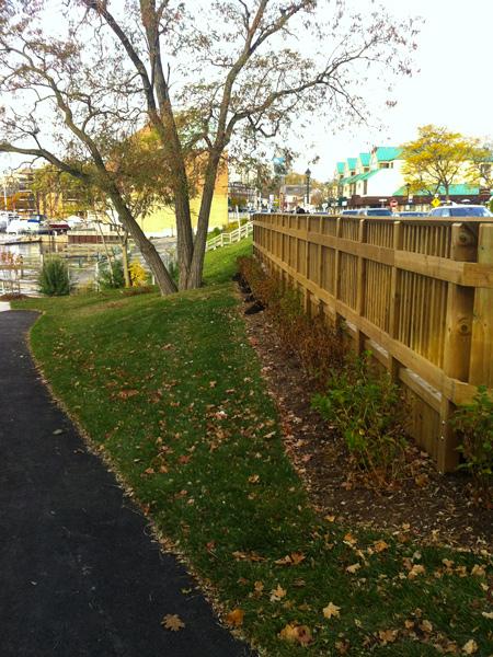 Bronte Waterfront: Fisherman's Wharf Restoration - new walkway