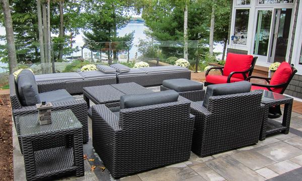 Muskoka Residence - patio