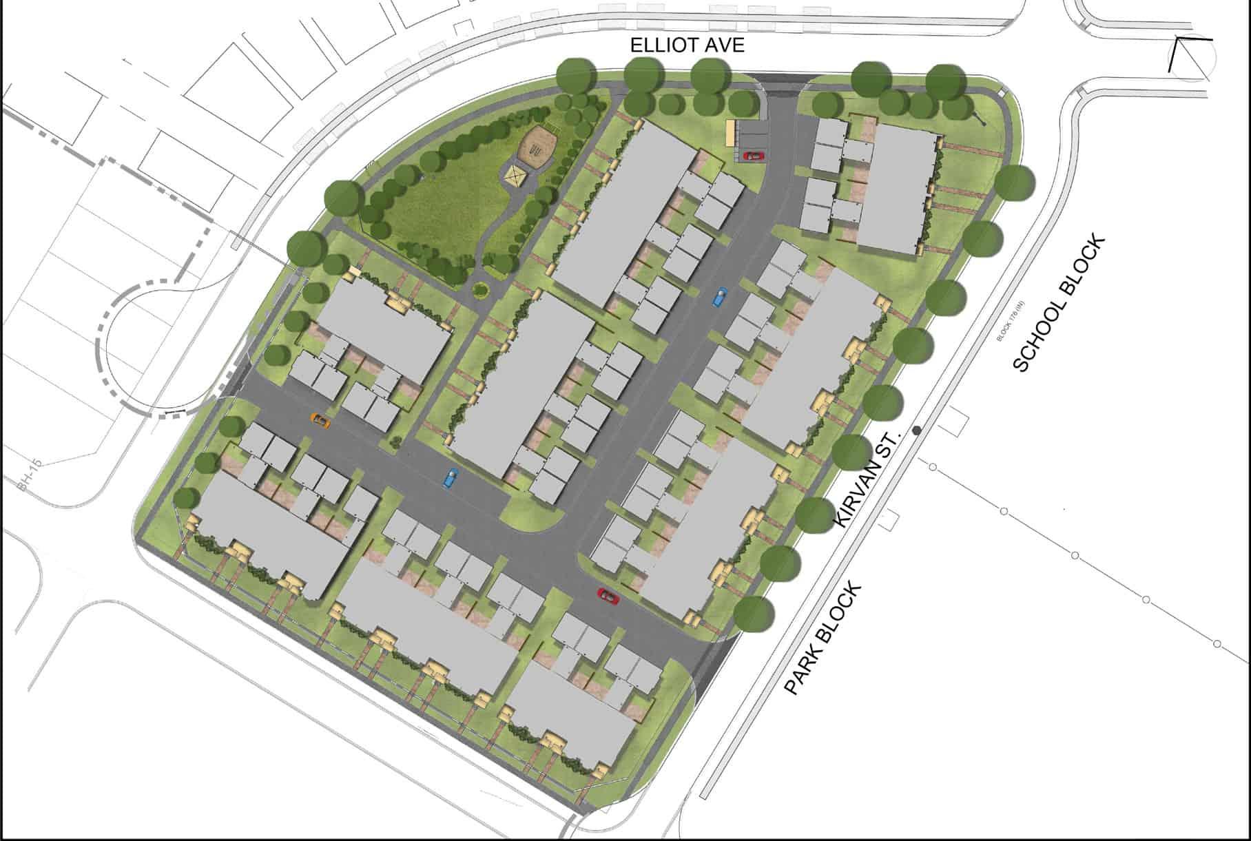 Breezeway Common Element Condominium Plan